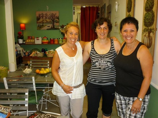 B&B Piazza Dante : Simona y Jenny con Alba