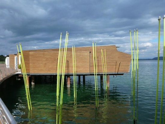 Hotel Palafitte: Room on the lake