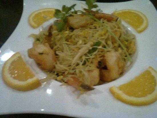 Ruyi Asian Fusion: Singapore Mei Fun Shrimp