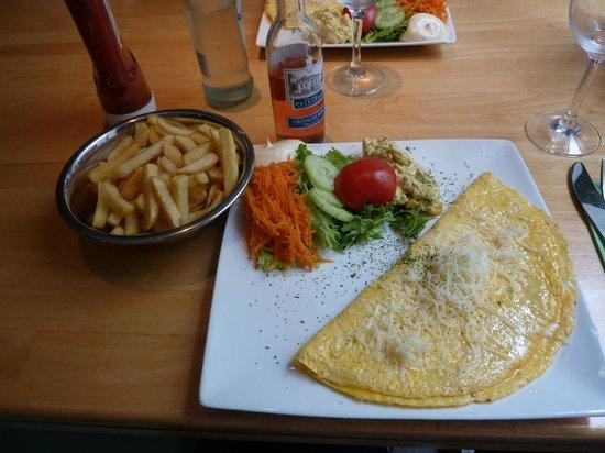 't Hoekske: Omelette with cheese