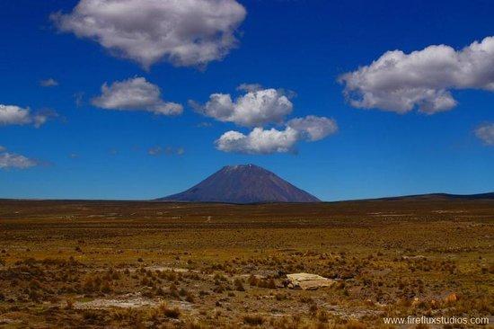 Arequipa, Peru: El Misti volcano in Peru.