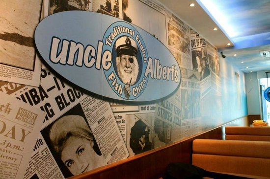Uncle Albert's Traditional Fish and Chips