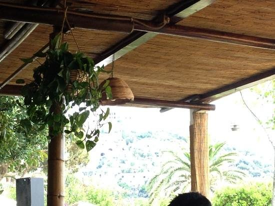 Gardenia Mare: gazebo ristorante