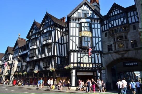 London Magical Tours: Liberty store.
