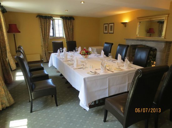 Mortons House Restaurant: private room