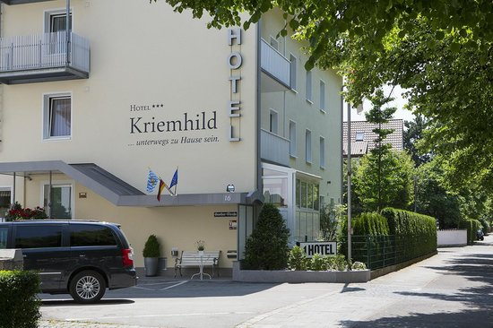 Hotel Kriemhild: hotel view frontside