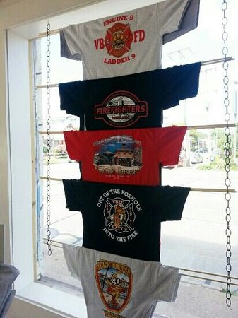 Virginia Beach Firefighters T Shirt Designs By From Local Fire Houses