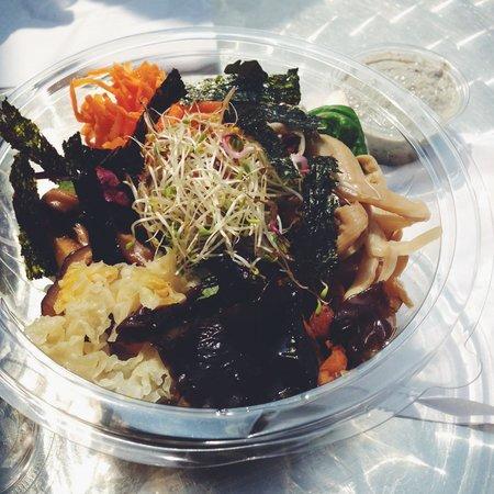 Namul: Mushroom Special Bibimbap