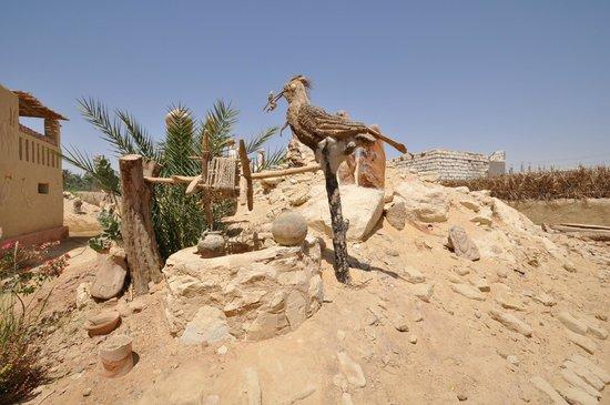 Badr's Museum : Badr Museum, Farafra, April 2013