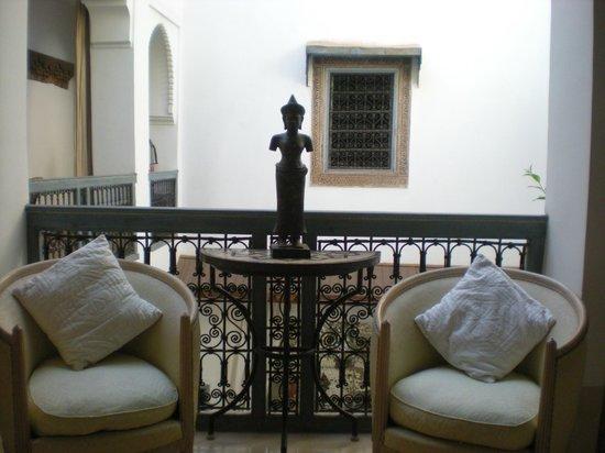 Riad Dar Oulhoum: interno riad
