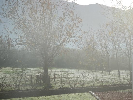 Jan Harmsgat Country House : Winter has arrived in Swellendam