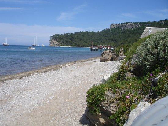 Club Med Kemer: plage