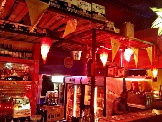 Cafe Mexicho: The Bar