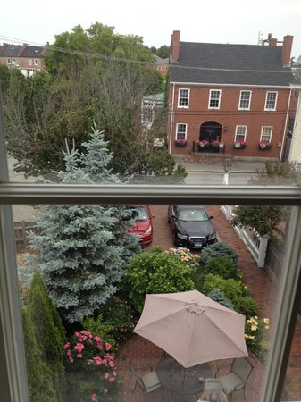 Compass Rose Inn: View from Room 5