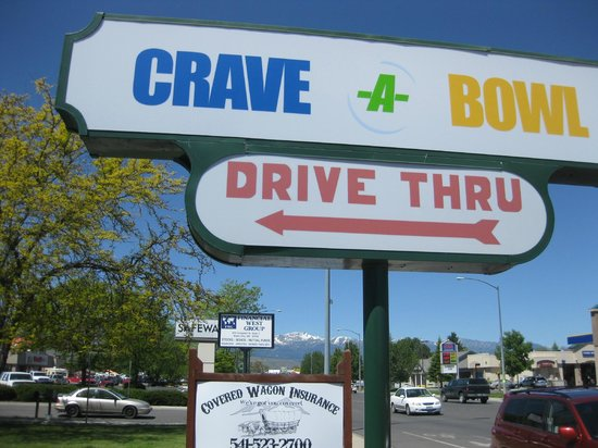 Crave-A-Bowl Grill: Crave-a-Bowl on Campbell - Baker City, OR