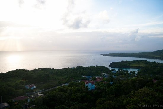 Caribbean Dawn: View from my balcony