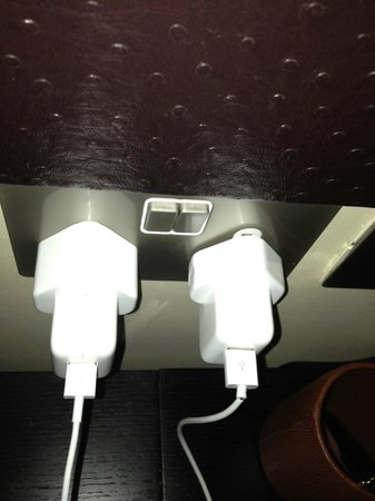 Washington Mayfair Hotel : Plug sockets loose