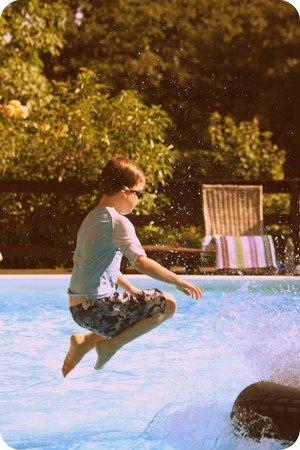 Castellare: The pool