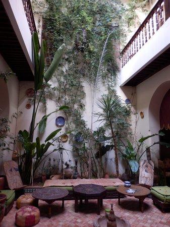 Ryad Bahia: Garten im Riad