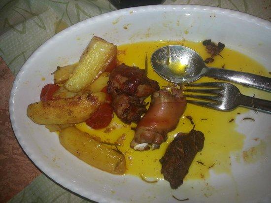 La Zoca di Strii: quello che è rimasto della porchetta con patate