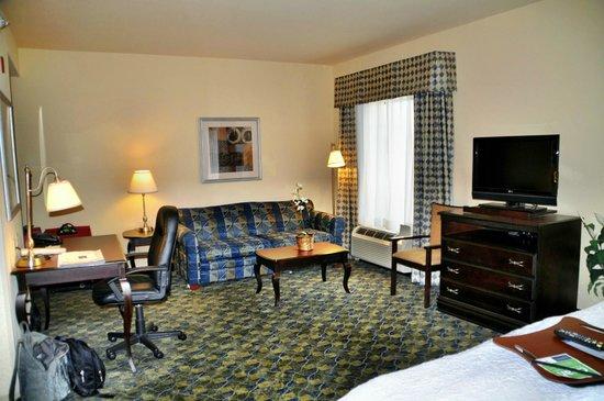 Hampton Inn & Suites Natchez: unser Zimmer