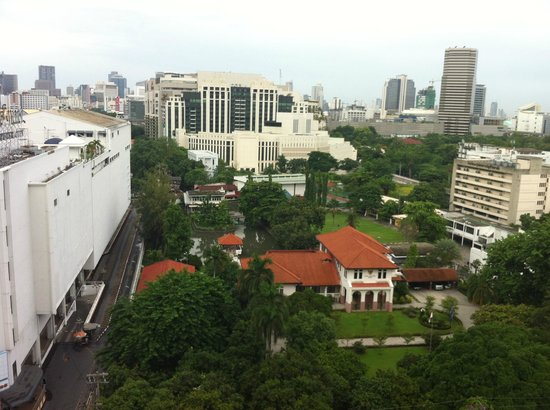 Centre Point Pratunam Hotel: View from room 1506