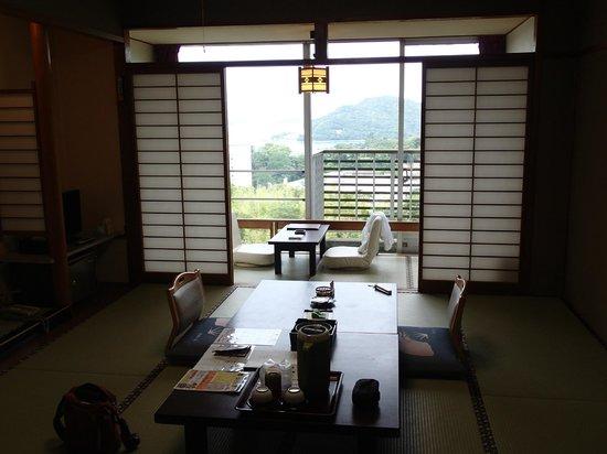 Senpokaku: our room