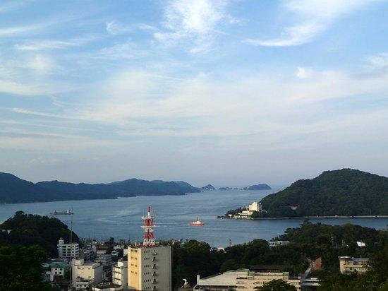 Senpokaku: view from the hotel