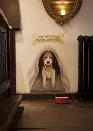 Old Swan & Minster Mill: The house dog