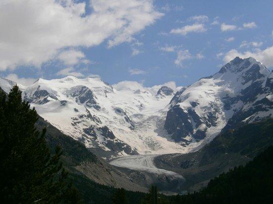 Bernina Pass: ghiacciaio Morteratsch