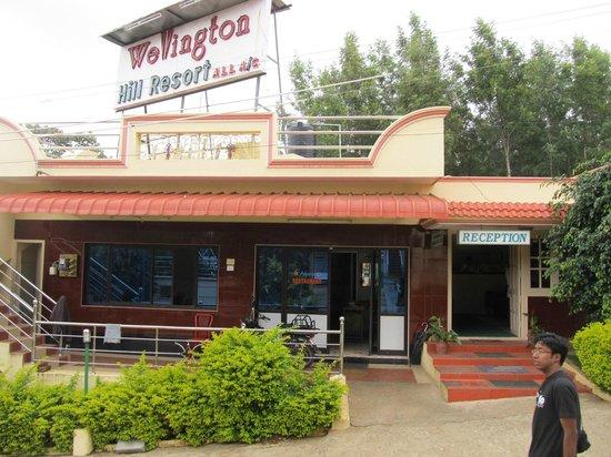 Wellington Hill Resort: Reception