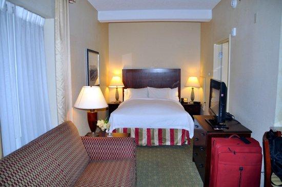 Residence Inn Memphis Downtown: unser Zimmer