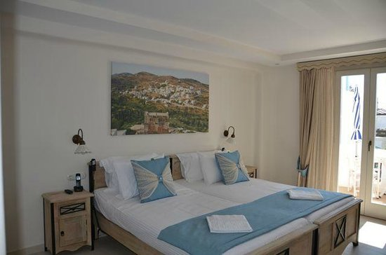 Naxos Island Hotel : Beautiful rooms