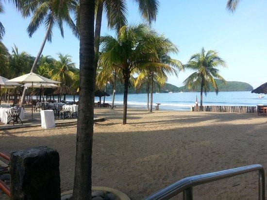 Villa del Sol Resort: A view to the south