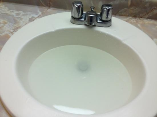 Clogged Sink Picture Of Admiral Hotel Arlington