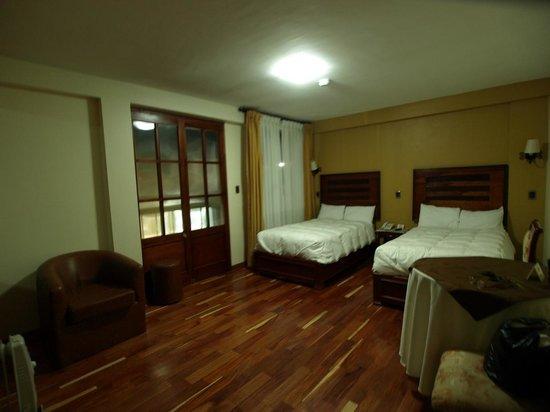Hotel Mabey Urubamba : Ma chambre