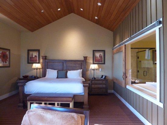 Brasada Ranch: Bedroom area w/very comfortable bed