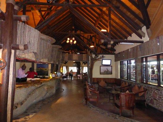 Keekorok Lodge-Sun Africa Hotels: Recepção