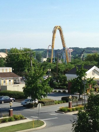 Days Inn Hershey: View of Hershey park from my room