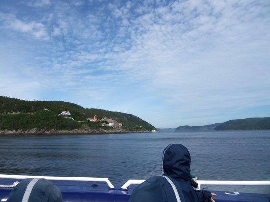 Groupe Dufour Cruises : Vu du fijor du Saguenay