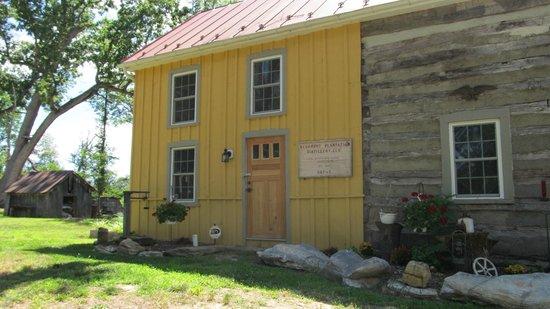 Bloomery Plantation Distillery: Main building
