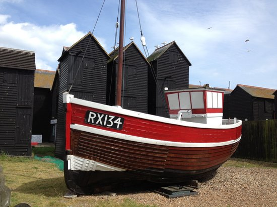 The Old Rectory: Hasting Fishing History