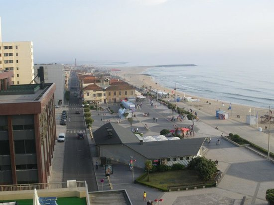 Hotel PraiaGolfe: Dalla terrazza laterale