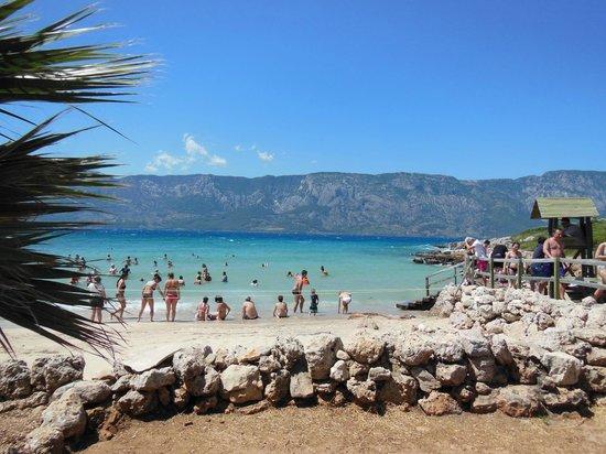 Cleopatra Island: Stranden