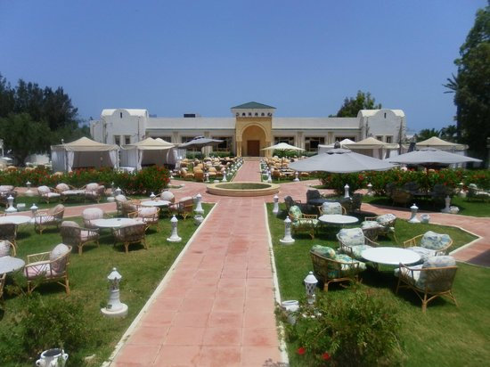 El Mouradi Club Kantaoui : garden grill
