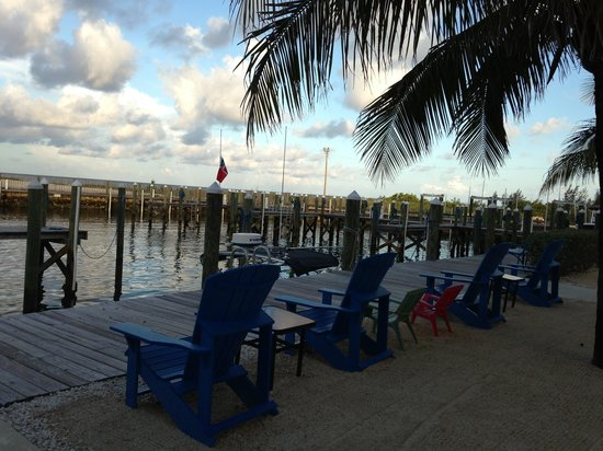 Blue Marlin Cove : Out on the dock