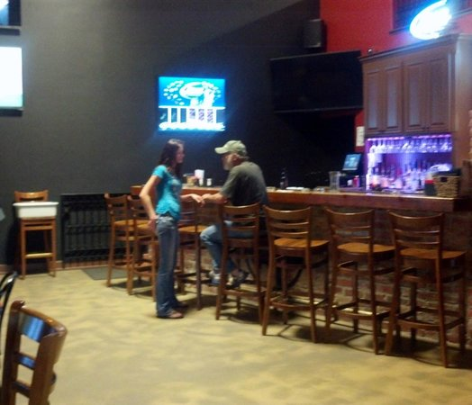 Diamond B's The Franchise: Back room bar