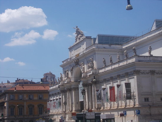 Palazzo delle esposizioni prospettiva lungo for Palazzo delle esposizioni via nazionale roma