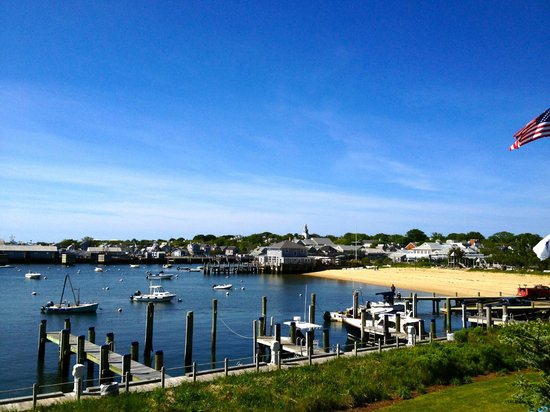 White Elephant: Nantucket Harbor from our room 252