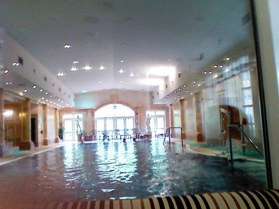 Reception picture of crabwall manor hotel spa - Hotels in chester with swimming pool ...
